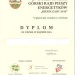 dyplom-bieszczady