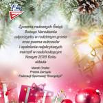 Kartka Boże Narodzenie 2018 FS Energetyk