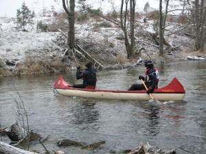 Z Opola canoe na wodzie.