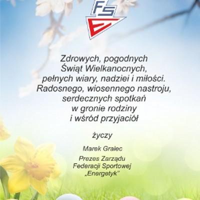 Zyczenia FS Energetyk Wielkanoc 2019