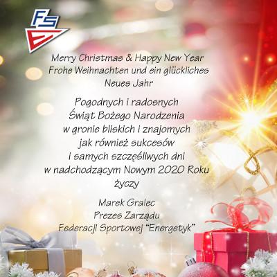 Kartka Boże Narodzenie 2019 FS Energetyk